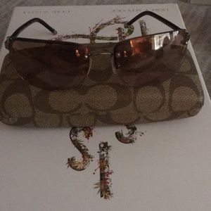 Coach brand women's sunglasses